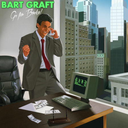 Bart Graft synthwave Go For Broke